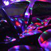 4W Ball Shape Stage Light USB Car Atmosphere Lamp for Decoration - BLACK