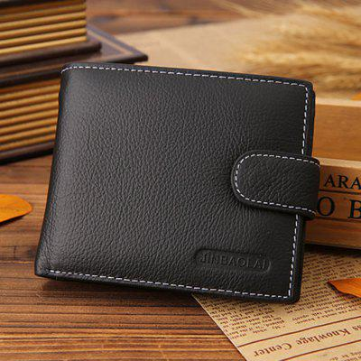 JINBAOLAI Men Leisure Wallet Portable Personality Classic