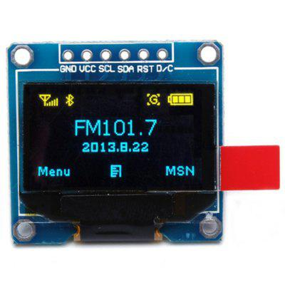 6 Pin 12864 0.96 inch SPI LCD Display Module for Arduino OLED Internal Drive Chip SSD136