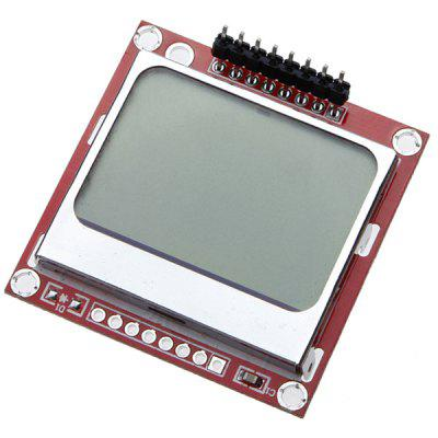 White Backlight 5110 LCD Display Module for Arduino