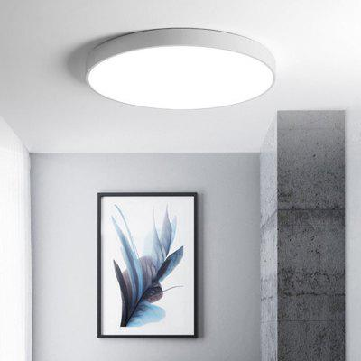 Round Ultra-thin 5cm Simple LED Ceiling Light 20W