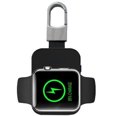Caricabatterie Wireless Veloce per Portachiavi Portatile per Apple Watch