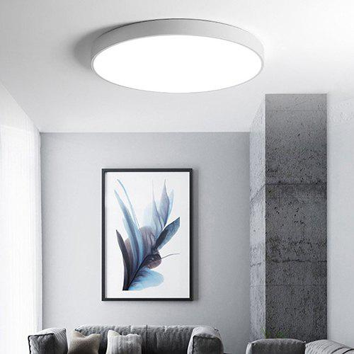 Round Simple Nordic Style Ultra-thin LED Ceiling Light
