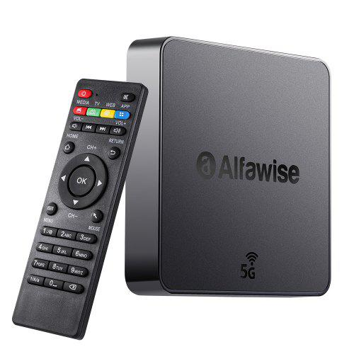 Alfawise A8 Pro 2.4G + 5G Wifi Magic TV Box