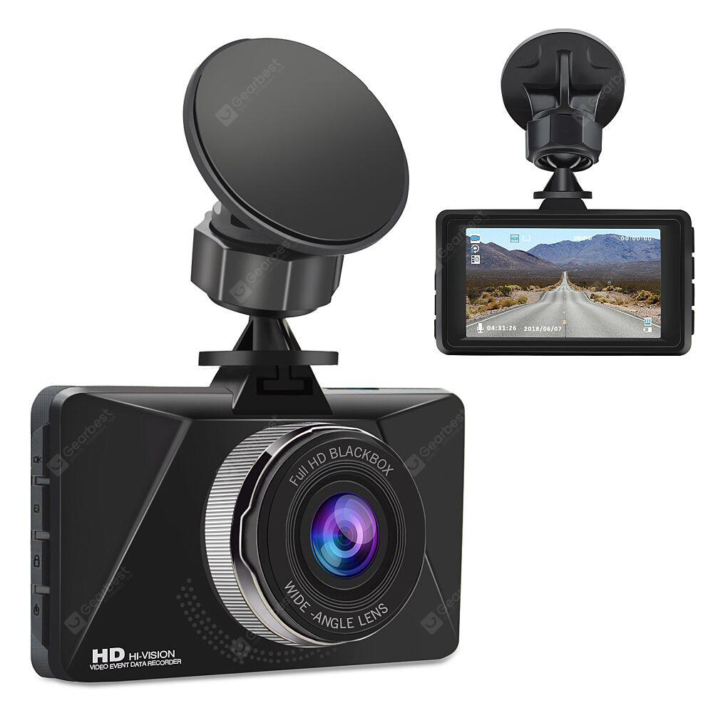 Alfawise Q5 Full HD 1080P Car DVR Dash Cam - Black