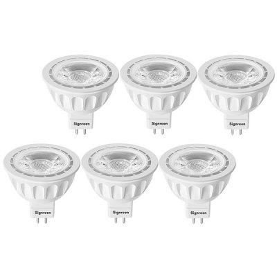 SIGNREEN MR16 GU5.3 Lâmpadas LED 6PCS