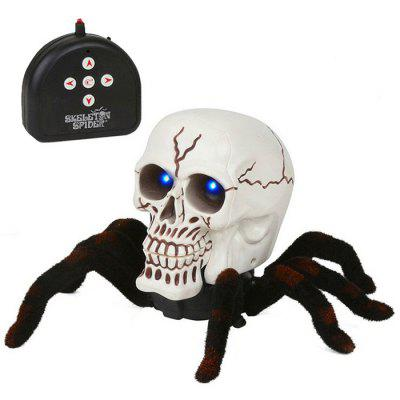 Remote Control Skull Spider Toy