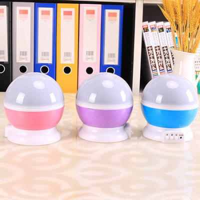 1W Colorful Dream Rotating Projection Night Light