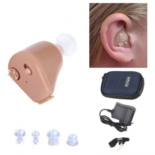 K-88 Hearing Aid Rechargeable Mini In-ear Assistant Sound Amplifier Invisible Hear Clear for The Elderly Deaf Ear Care Tools