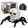 Afstandsbediening Skull Spider Toy - WIT