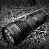 X6S Portable Mini 2000lm LED Flashlight for Outdoor Camping - BLACK