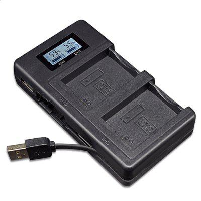 Palo1 FW50 - C USB Smart LCD Digital Display Camera Battery Charger
