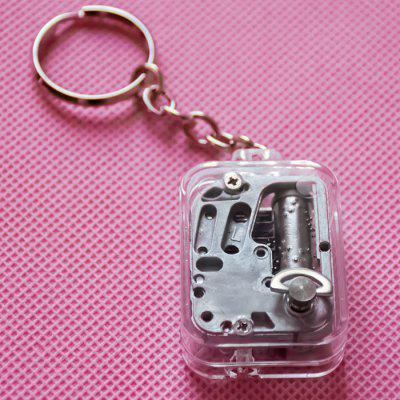 Creative Mini Music Box Key Ring