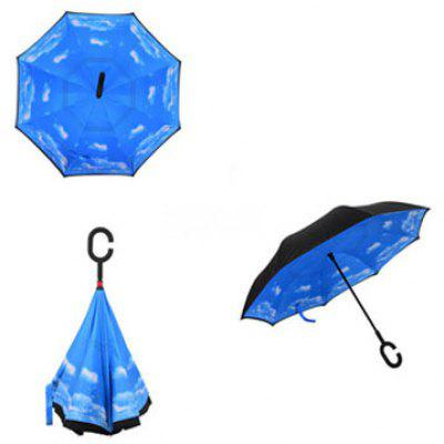 C-type Creative Stand-up Free-standing Umbrella