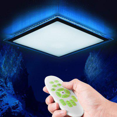 MAXLAHO LXD - TX - 60 Simple 60W LED Ceiling Lamp with Remote Control