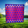 45W Red + Blue + White LED Grow Light Panel - SILVER