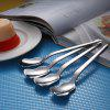 316 Stainless Steel Coffee Stirring Spoon - SILVER