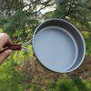 Practical Camping Picnic Frying Pan - CARBON GRAY