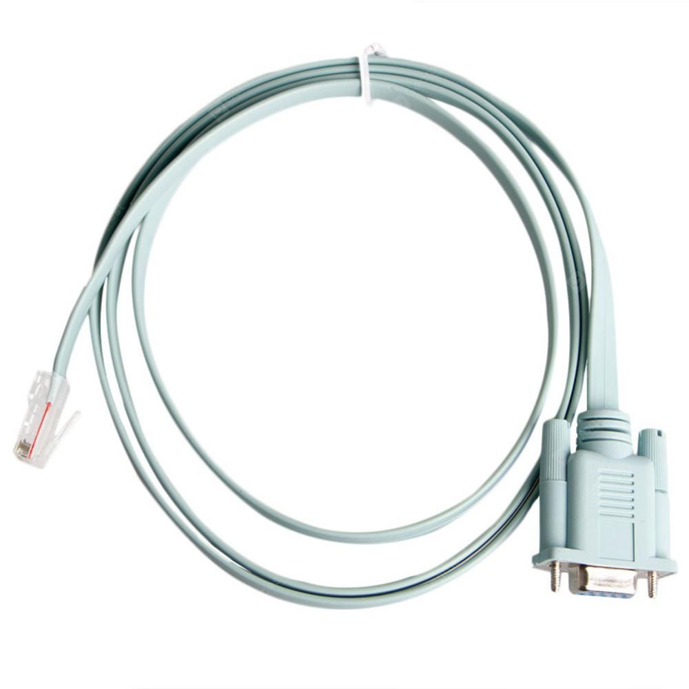 Cable Length: 1.5m Connectors RJ45 Cat5 to Rs232 DB9 Converter Ethernet Adapter Cable Wire for Routers Network PC Laptop