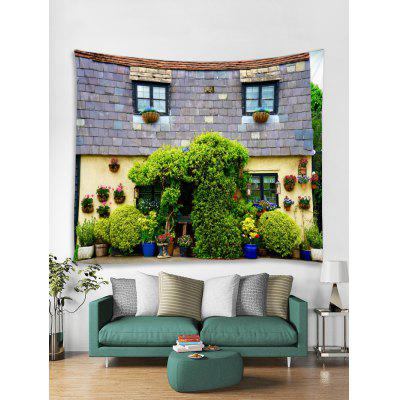 3D House Printed Tapestry Art Decoration, Wall Decor,Wall Blanket,Wall Hanging