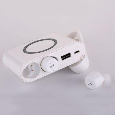 X4T Bluetooth Wireless In-Ear 4.2 Smart Noise Reduction with Charging Cabin Headset