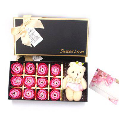 12 Roses Soap Flower Gift Box Valentine's Day Gift