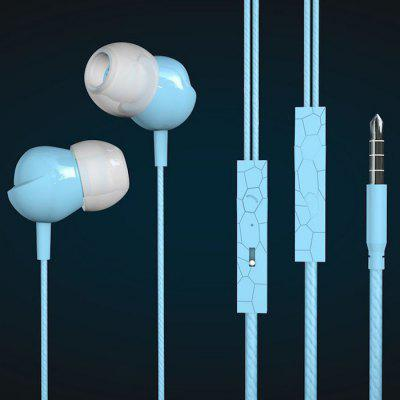 Pinlong New In-ear Subwoofer Wired Earbuds MP3 Explosion Models Gaming Headset