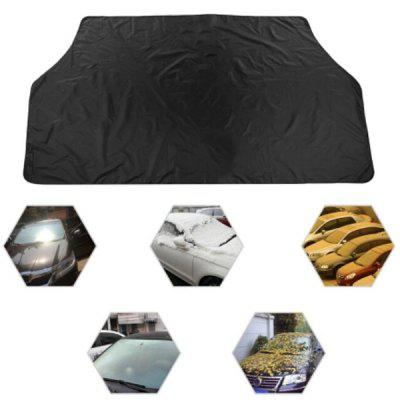 Dual Use Car Magnetic Snow Shade Winter Windscreen Cover Anti-UV Foil Windshield Sunshade Auto Vehicle Accessories