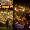 Garden Decoration Christmas Day Solar Copper Light String - TRANSPARENT