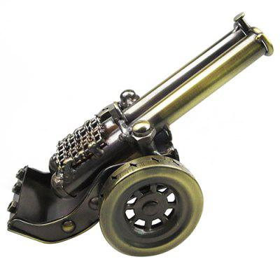 European Style Double Metal Cannon Model