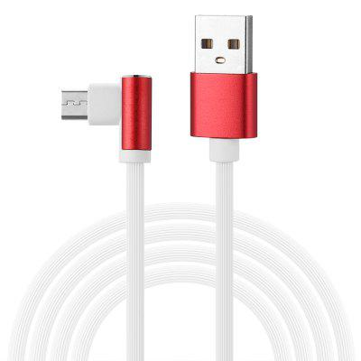 gocomma Game Elbow Design Flash Charging Data Cable Line 2pcs
