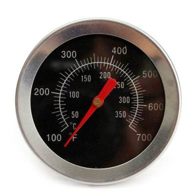 Stainless Steel Oven Thermometer Bimetal Thermometer BBQ Grill Thermometer Plug Meat Thermometer