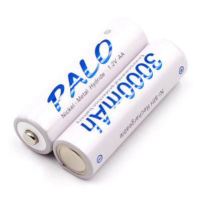 Palo 1 3000mah High Capacity Camera Toy AA NiMH Battery