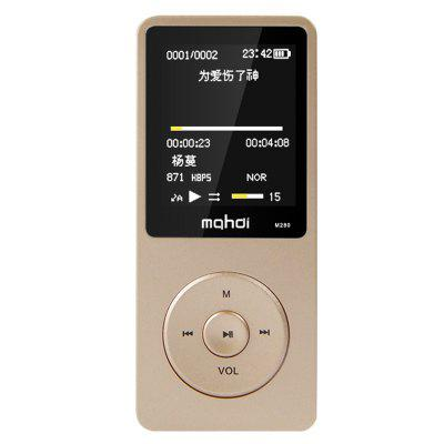 Mahdi M280 Ultra Thin MP3 Sport Music Player Portable Digital Voice Recorder Built-in Loudspeaker with 8GB Storage and 1.8 inch Screen
