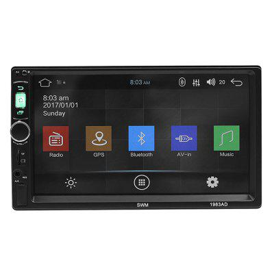 SWN - 1983AD 7 Inch HD Car Stereo 2 DIN Android Mirror Link Bluetooth Radio MP5 Player Universal GPS Navigation