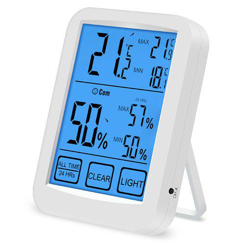 Large-screen Touch Electronic Thermometer Hygrometer