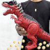 Dinosaur Toy Electric Tyrannosaurus Model - BEAN RED
