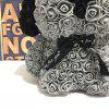 PE Flower Rose Big Ear Dog - GRAY