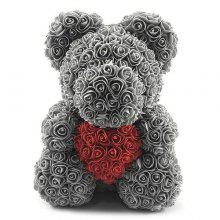 price historyValentine Day Gift Artificial Roses Bear Wedding Party Decoration on gearbest