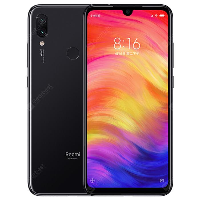 Xiaomi Redmi Note 7 4GB RAM 4G Phablet - Black