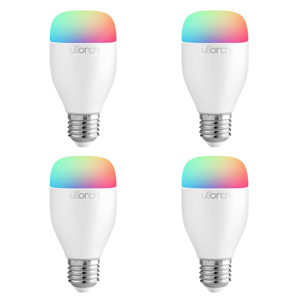 Utorch LE7 E27 Smart WiFi RGBW LED Light Bulb Dimmable for Party Lighting AC100 - 240V