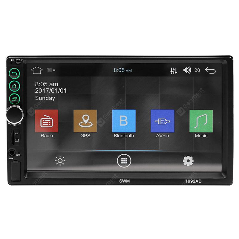 SWN - 1992AD 7 inch HD Universal GPS Navigation Car Bluetooth Player