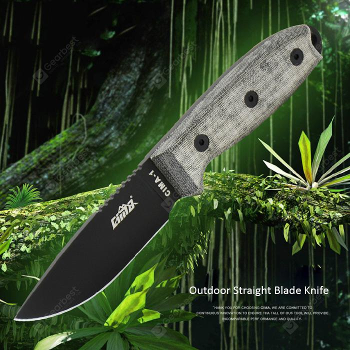 CIMA Fixed Edge Knife - BLADE WITHOUT SAWTOOTH