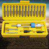 High-speed Steel Countersunk Head Bit Screwdriver 20pcs - YELLOW