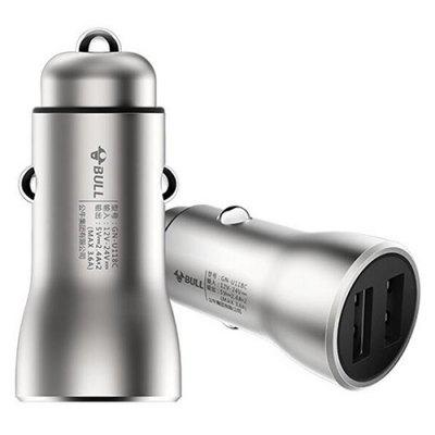 GN - U118C Double USB Metal Car Charger