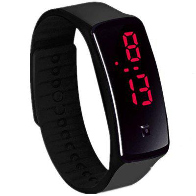 LED Kinder Sport Armband Armbanduhr Silikon Band Digital Unisex