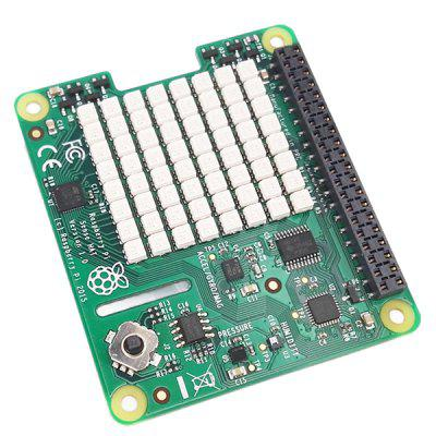 Raspberry Pi 3 Sense HAT with Orientation Pressure Humidity And Temperature Sensors