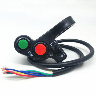 Two-line Handlebar Switch LED Headlights Handlebar Switch Motorcycle Handlebar Switch Motorcycle Flameout Switch