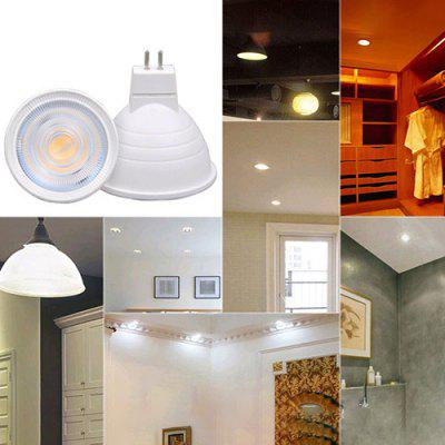High Quality Lamp Cup Led High Display 120 Degree GU10 MR16 2835 Patch Light Cup 6W Plastic Package Aluminum Spotlight