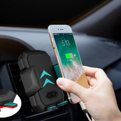 Intelligent Automatic Induction Infrared Sensor Car Mobile Phone Holder Wireless Charging 10W